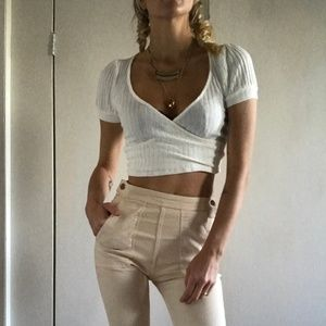 Cute crop top by Project Social T XS